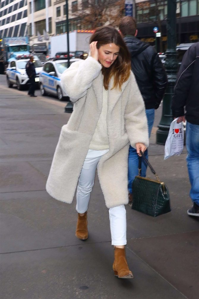 Keri Russell: Out and about in NYC -01