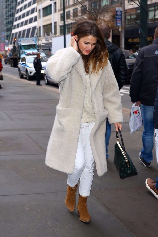 Keri Russell: Out and about in NYC -07