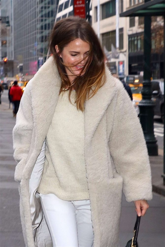 Keri Russell - Out and about in NYC