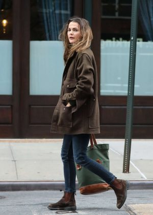 Keri Russell Out And About in Tribeca