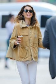 Keri Russell - Out in New York City