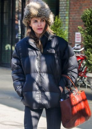 Keri Russell - Out in NYC