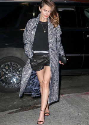 Keri Russell out to dinner in New York City