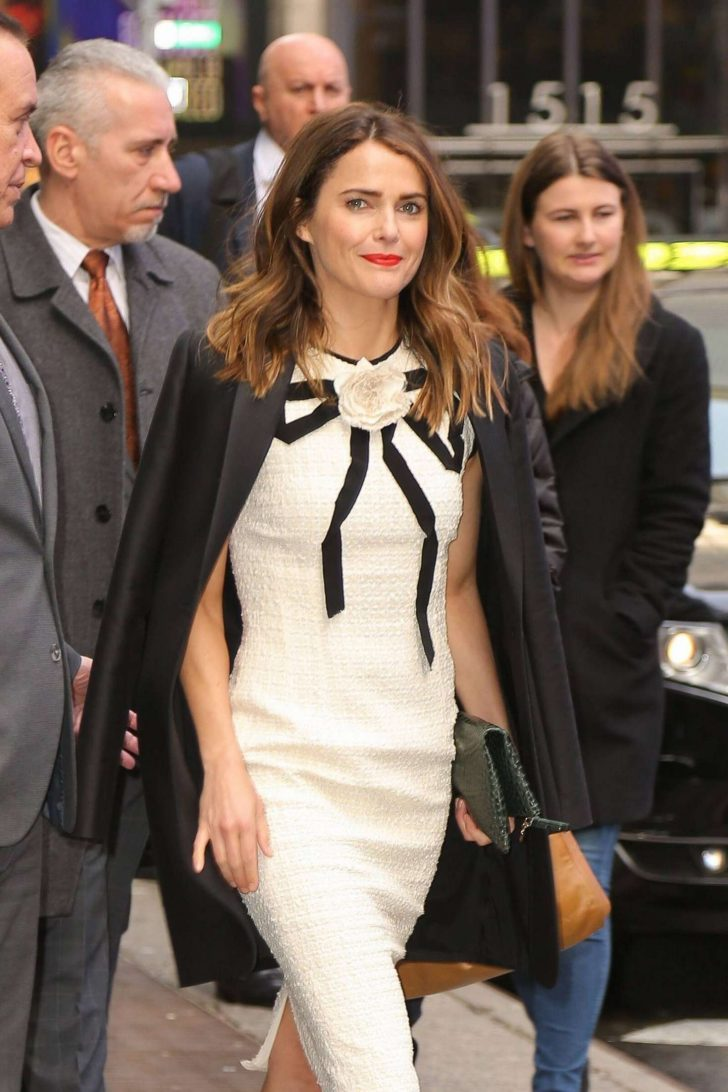 Keri Russell - Outside 'Good Morning America' in NYC
