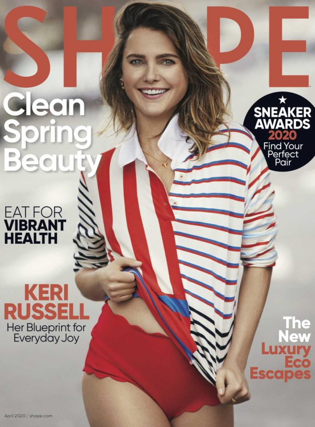 Keri Russell - Shape US Magazine (April 2020)