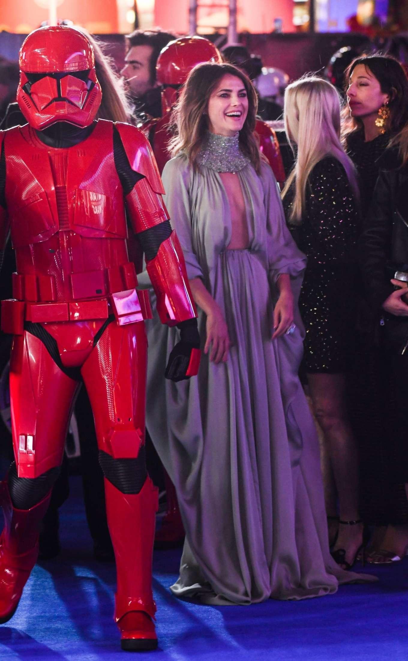 Keri Russell Star Wars The Rise Of Skywalker Premiere In London 29 Gotceleb