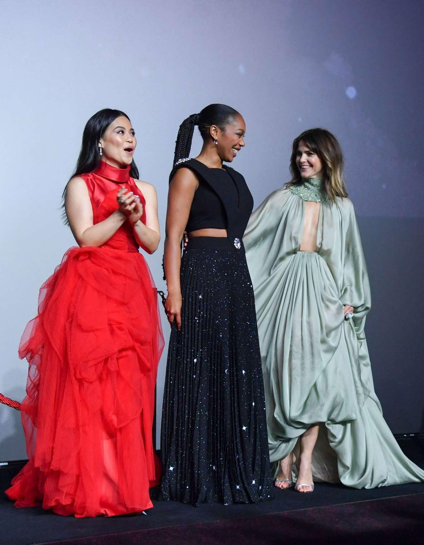 Keri Russell Star Wars The Rise Of Skywalker Premiere In London 56 Gotceleb