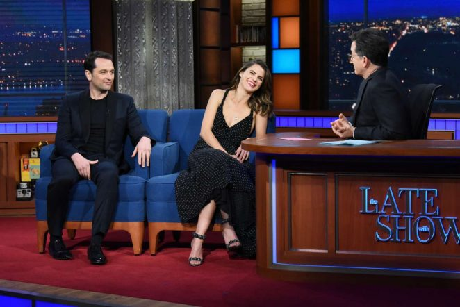 Keri Russell - 'The Late Show with Stephen Colbert' in NY