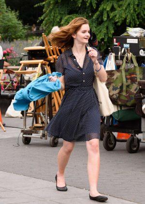 Kerris Dorsey - Filming 'Ray Donovan' in New York