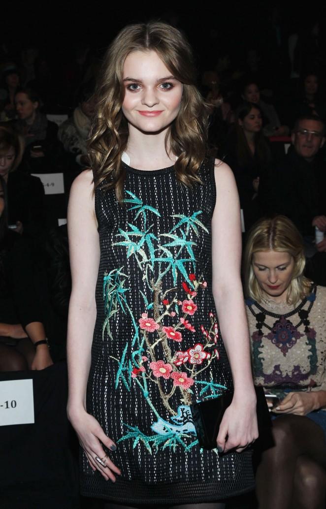 Kerris Dorsey: Vivienne Tam Fashion Show 2015 -05