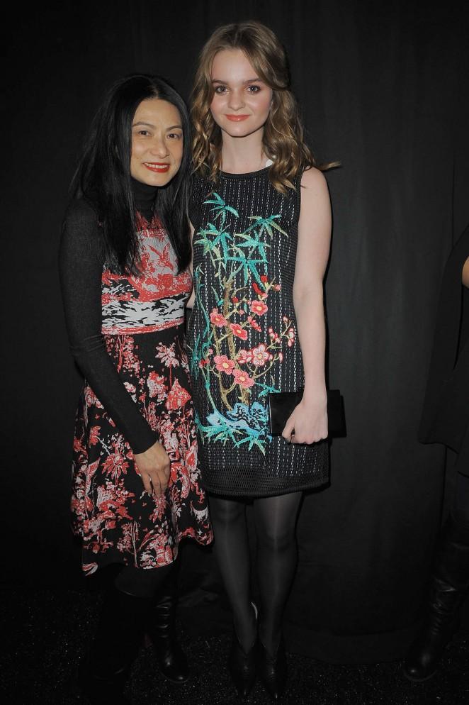 Kerris Dorsey: Vivienne Tam Fashion Show 2015 -08