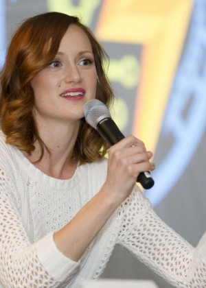 Kerry Bishe - AMC's 'Halt And Catch Fire' Panel at Comic Con 2016 in San Jose