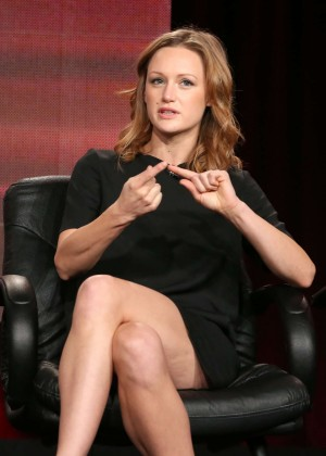 "Kerry Bishe - ""Halt and Catch Fire"" Panel TCA Press Tour in Pasadena"