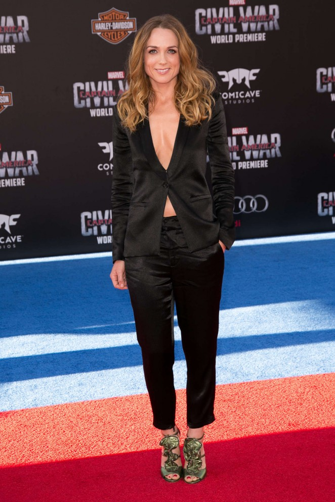 Kerry Condon - 'Captain America: Civil War' Premiere in Hollywood