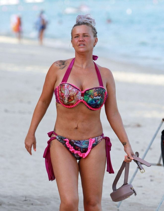 Kerry Katona in Bikini on holiday in Thailand