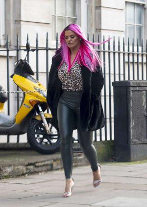 Kerry Katona - Out in London