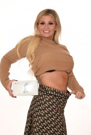 Kerry Katona - Relaunching Brand Weight Loss Company Slim Care in Cheshire
