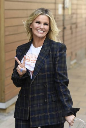 Kerry Katona - Seen at Steph's Packed Lunch in Leeds