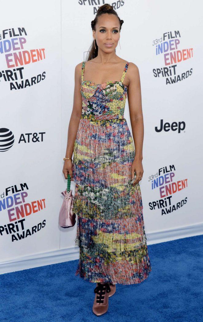 Kerry Washington - 2018 Film Independent Spirit Awards in Santa Monica