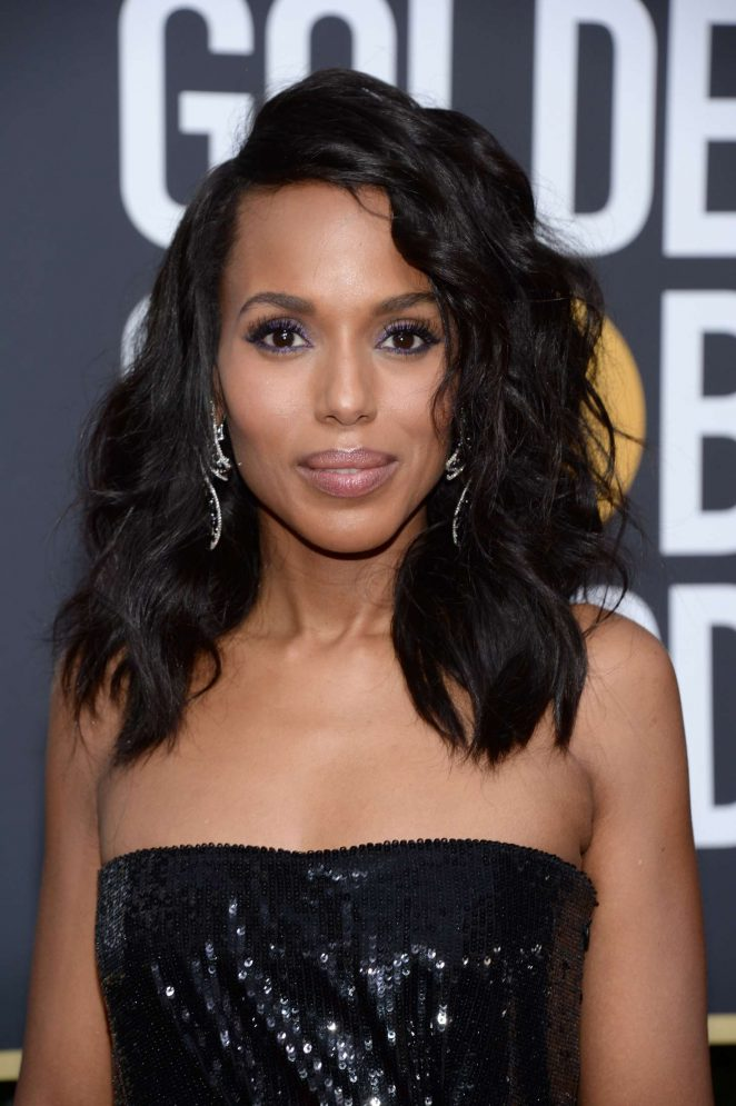 Kerry Washington - 2018 Golden Globe Awards in Beverly Hills