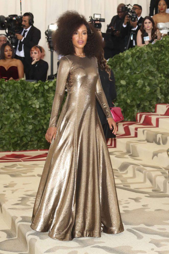 Kerry Washington – 2018 MET Costume Institute Gala in NYC