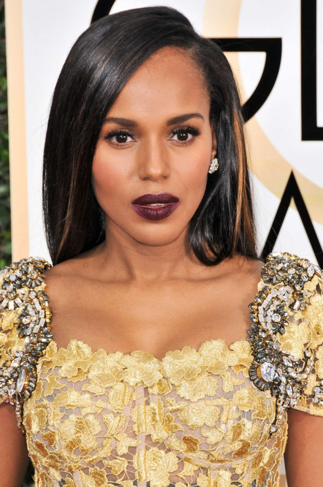 Kerry Washington - 74th Annual Golden Globe Awards in Beverly Hills