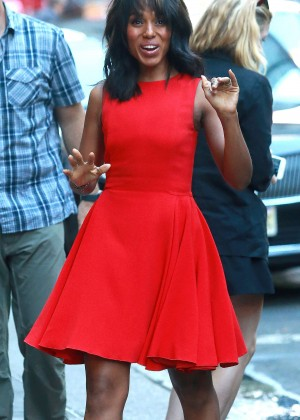 Kerry Washington - Arriving at 'Good Morning America' in NYC