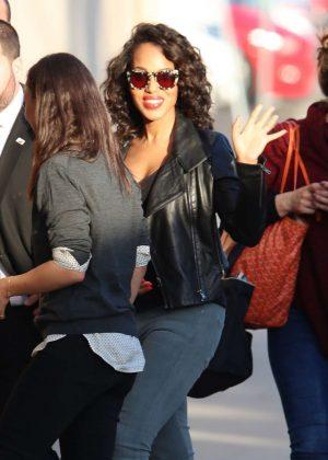 Kerry Washington - Arriving at 'Jimmy Kimmel Live' in LA