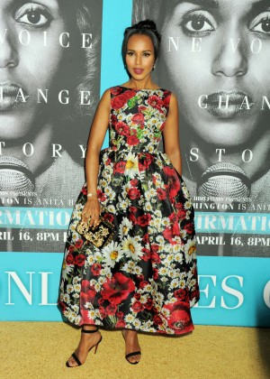 Kerry Washington - 'Confirmation' Premiere in Hollywood
