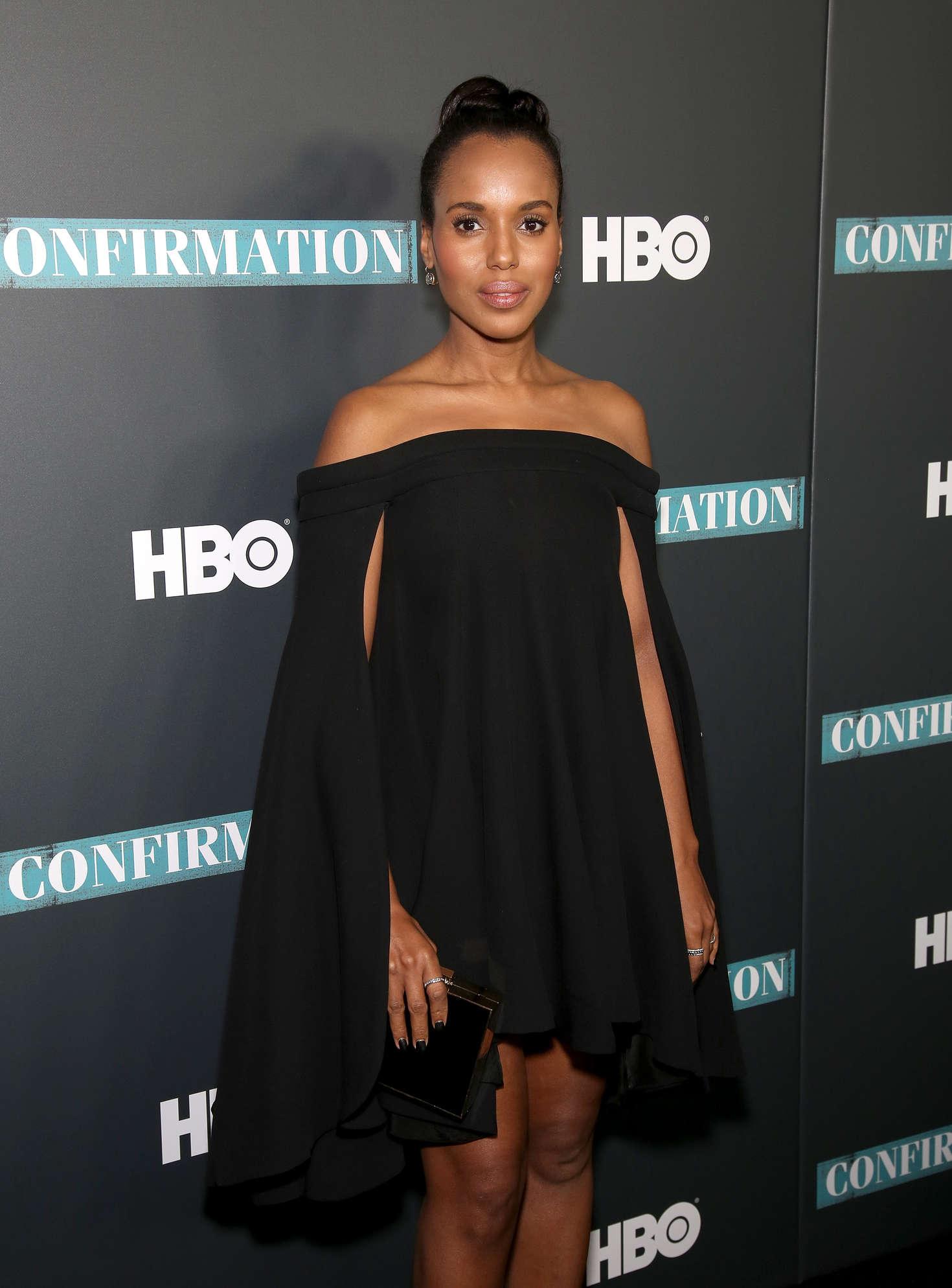 Kerry Washington - 'Confirmation' Screening in New York City