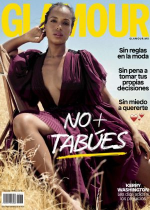 Kerry Washington - Glamour Mexico Magazine (March 2018)
