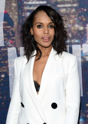 Kerry Washington - SNL 2015 Anniversary Special in NY