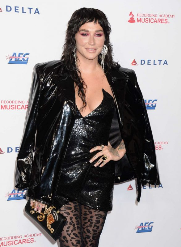 Kesha - 2020 MusiCares Person of the Year Gala in Los Angeles