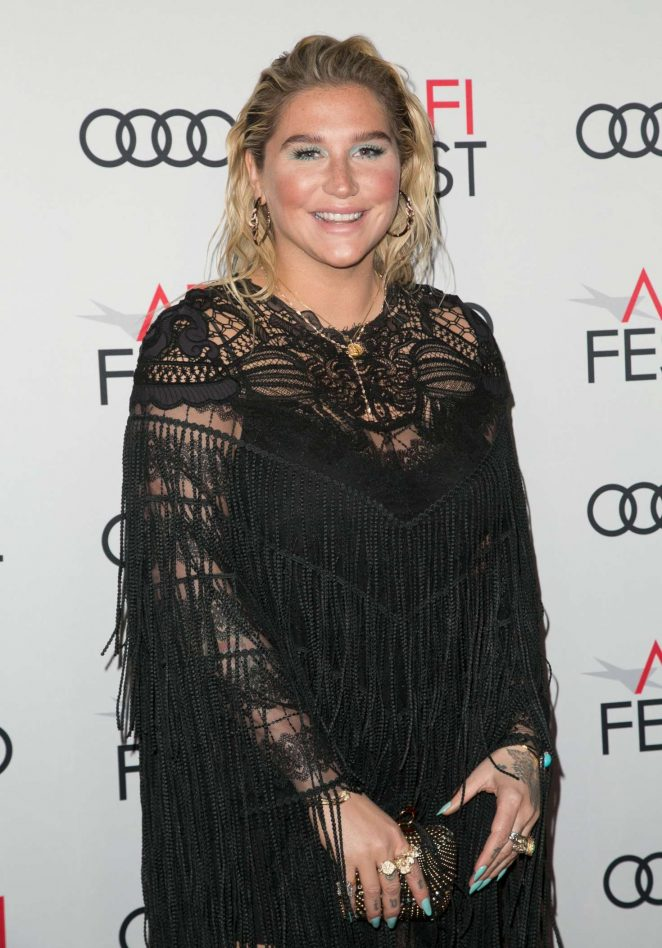 Kesha – AFI Fest 2018 'On the Basis of Sex' Opening Night Premiere in LA