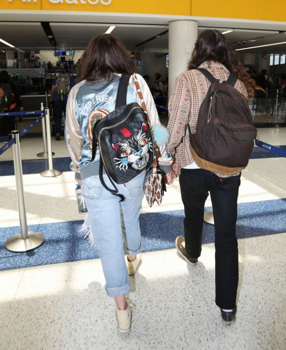 Kesha – Arriving at LAX airport in Los Angeles-19