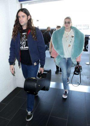 Kesha at LAX International Airport in LA