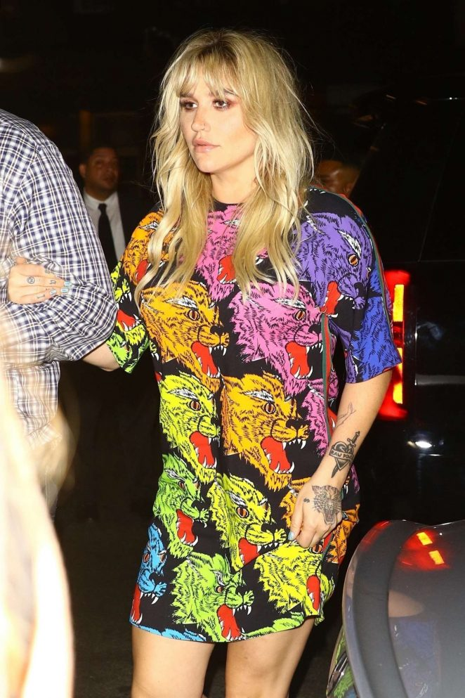Kesha - Celebrates her 'Rainbow' documentary film in New York