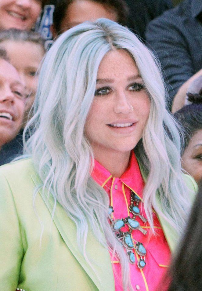 Kesha - Leaves the 'Good Morning America' in New York City