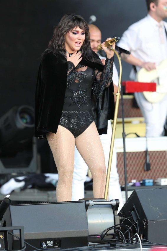 Kesha - Performing at Loveloud Festival 2019 in Utah