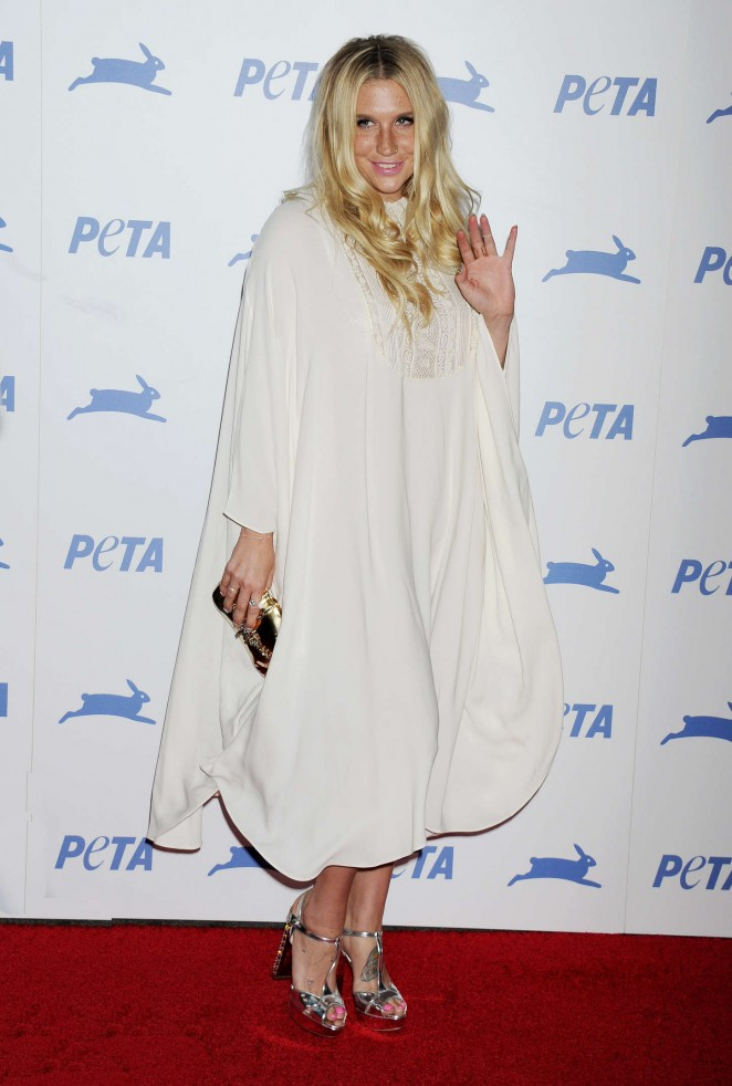 Kesha - PETA's 2015 Party in Los Angeles