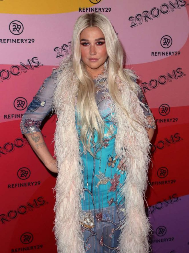 Kesha: Refinery29s 29Rooms Los Angeles 2018: Expand Your Reality at The Reef -02