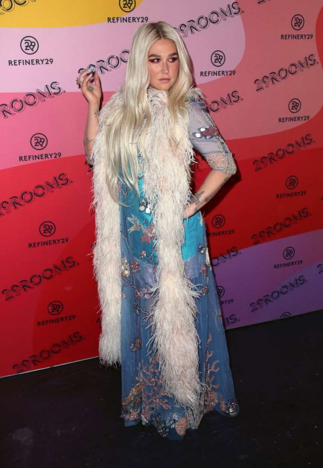 Kesha: Refinery29s 29Rooms Los Angeles 2018: Expand Your Reality at The Reef -03
