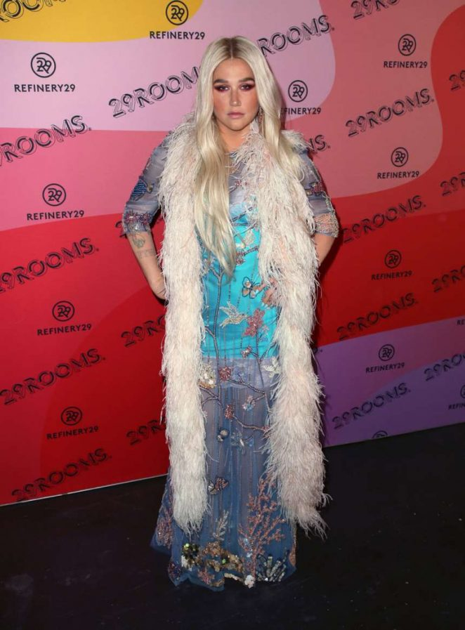 Kesha: Refinery29s 29Rooms Los Angeles 2018: Expand Your Reality at The Reef -04