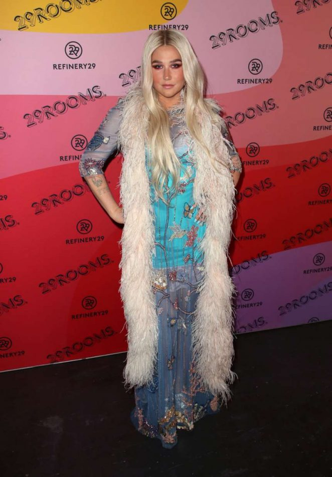 Kesha: Refinery29s 29Rooms Los Angeles 2018: Expand Your Reality at The Reef -08