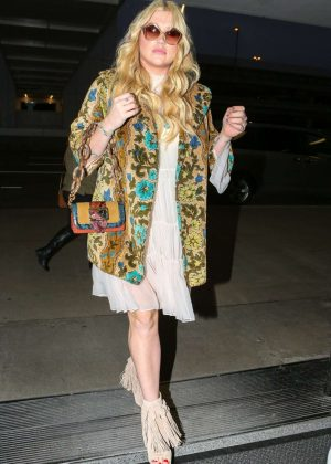 Kesha Sebert at LAX Airport in Los Angeles