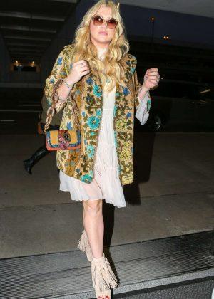 Kesha Sebert at LAX Airport in Los Angeles