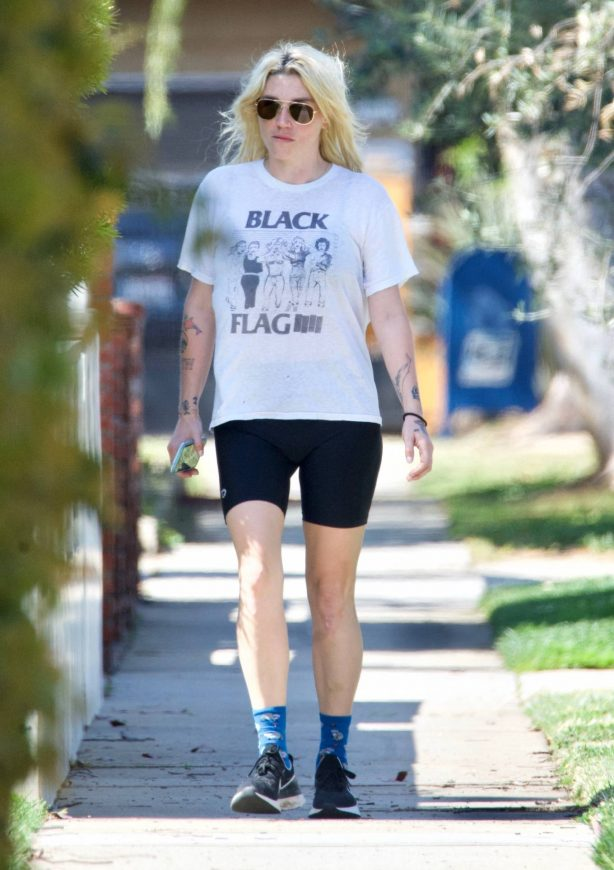Kesha - Spotted after her workout in West Hollywood