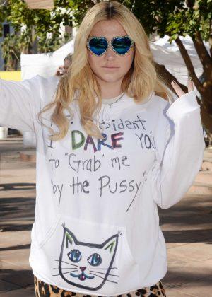 Kesha - Women's March on Los Angeles