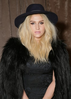 Kesha - Zac Posen Fashion Show 2015 in NYC