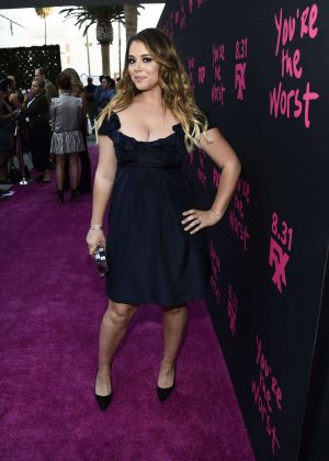 Kether Donohue - 'FXX's You're The Worst' Season 3 Premiere in Los Angeles